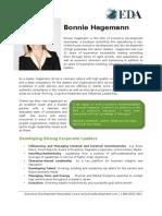 Bonnie Hagemann Full Bio 2013