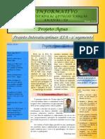 Informativo - Projeto Interdisciplinar - Água