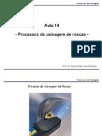Processo Usinagem de Roscas