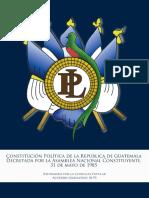 Political Constitution of Guatemala -1985!05!31- -Constitucion Politica de La Republica de Guatemala- -1993