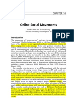 Hara & Huang, Online Social Movements.