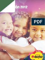 Informe Gestion 2012 Fundacion Exito