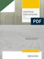 Adaptasi Dan Evolusi 2
