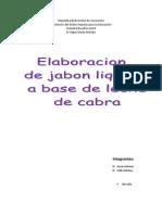 Jabon Leche de Cabra