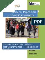 Mujer Migrante Guatemalteca en TapachulaFin