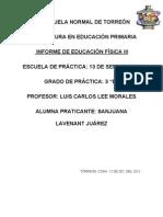 INFORME DE EDUCACION FISICA II2.doc