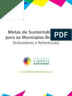 Publicacao Metas de Sustentabilidade Municipios Brasileiros