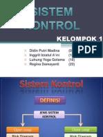 KELOMPOK 1 Sistem Fix