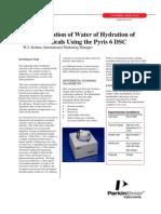 Agua de Hidratacion