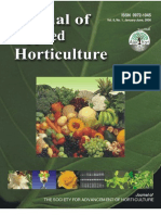 Journal of Applied Horticulture VOL 8