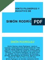 Pensamiento de Simon Rodriguez