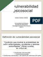 VULNERABILIDAD PSICOSOCIAL