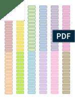 PERSONAL- Rainbow Tags