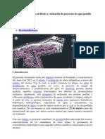 Autocad Aplicado al diseño y evaluación de proyectos de agua potable y saneamiento