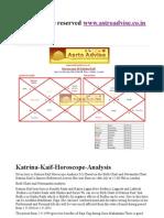 Www.astroadvise.co.in Katrina Kaif Horoscope Analysis