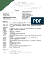 Curriculum vitae - Léo Fugazza - FR/EN_court