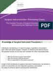 PREZIO_ICT WhitePaper Surgical Instrumentation Eliminating Chaos