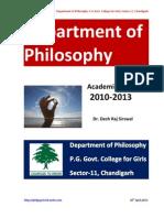 Academic Report 2010-2013