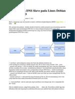 Membangun DNS Slave Pada Linux Debian