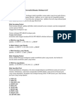 Konfigurasi Iptables Firewall Di Router Debian 6