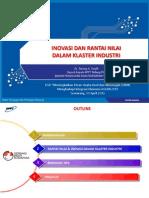 3. Inovasi & Rantai Nilai Dalam Klaster Industri 30 April 2013 - Tatang Taufik