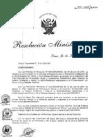 RM511-2007 Intoxicacion Por Plomo