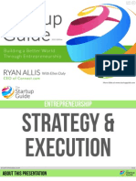 The Startup Guide - Strategy & Execution