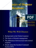 The Basics of Disaster Response