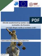 CRPE Policy Memo Nr.11 Efectele Monitorizarii Pe Justitie Asupra Politicii Si Institutiilor Din Romania