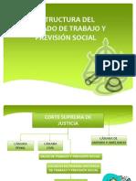 Estructura Del Juzgado y Demanda