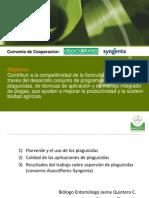 Evaluacion Del Procedimiento de Aspercion de Fungicidas