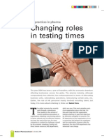 Changing Role in Testing Times Modern Pharma Mag