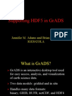 Grads and Hdf5