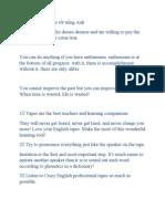33 thói quen để học tốt tiếng Anh