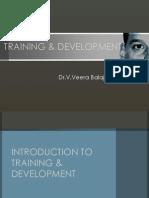 17551820 Training Development Introduction