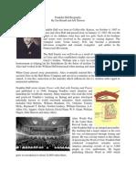 Franklin Hall Biography