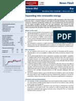 DLUM - CBRS - 130107 - Expanding Into Renewable Energy