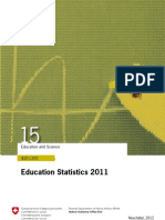 education statistics switzerland