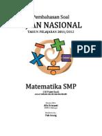 Pembahasan Soal UN Matematika SMP 2012 (10 Paket).pdf