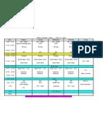 2013 t2 week timetable