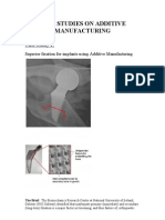 Case Studies on Additive Manufacturing