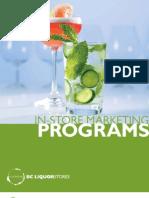 Bcliquorstores Instore Marketing Program