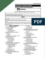 Electric Steam generator Manual