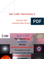Astronomy1102 Lecture 1