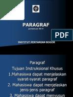 PARAGRAF TERBARU (repaired).ppt