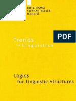Logics for Linguistic Structure (2008)