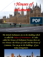 Prezentacija 10 Klass the Houses of Parliament