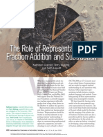 Role of representation