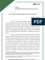 2012 Balanco Do Comercio Exterior Da Floricultura Brasileira