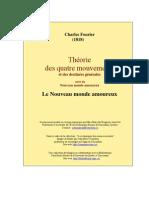 Fourier - Le Nouveau Monde Amoureux